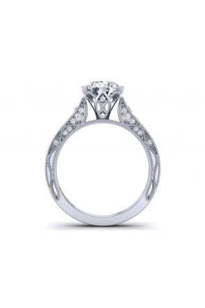 Pave Engagement Ring WIST-1529-SJ WIST-1529-SJ