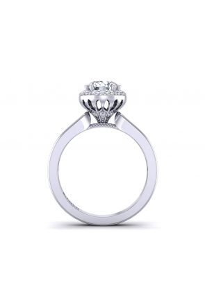 Unique modern custom channel set diamond ring WIST-1538-D WIST-1538-D