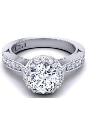 Modern artistic custom pavé set wedding ring WIST-1538-RA WIST-1538-RA